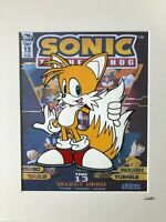 Sonic The Hedgehog 2 - Tails - Hand Drawn & Hand Painted Cel