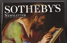 Sotheby's Newsletter December 1995 Saint Luke Giorgio Vasari