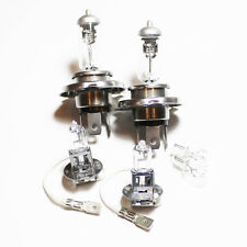 VW Golf MK3 H4 H3 501 100 W Claro Xenon HID Alto/Bajo/Niebla/Lado Headlight Bulbs Set