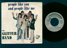 "7"" GARY GLITTER BAND PEOPLE LIKE YOU AND PEOPLE LIKE ME / MAKES YOU BLIND ITALY"