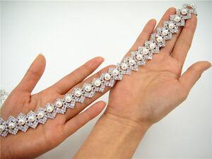 Rhinestone Craft Wedding Chain Diamante Crystal Dancing Dress Costume DIY Ribbon