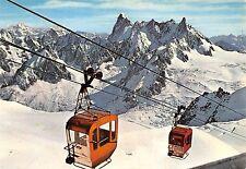 BF2840 les grandes jorasses  chamonix mont blanc cable train  france