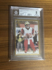 2000 Pacific Private Stock TOM BRADY #128 RC Super Rare #d/181 Gold Rookie BGS 8