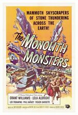 THE MONOLITH MONSTERS Movie POSTER 27x40 Lola Albright Grant Williams Les