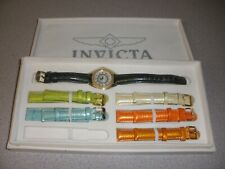 INVICTA WOMEN'S WATCH WITH 6 INTERCHANGABLE STRAPS