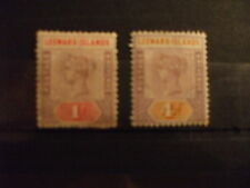 Mint Hinged Victorian (1840-1901) Leeward Islands Stamps