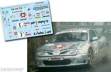 Decal 1:43 Enrico Bertone - RENAULT MAXI MEGANE - Rally El Corte Ingles 1999
