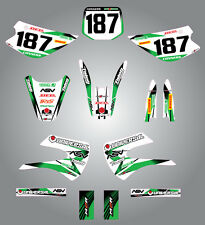 KX  85 -  2001 - 2013 / Stickers / Decals - Full  Custom Graphic  Kit - STORM -
