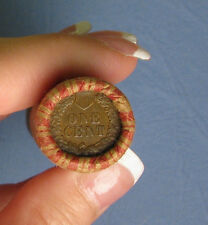 ONE UNOPENED INDIAN HEAD CENT WHEAT PENNY SHOTGUN ROLL FROM ESTATE .. R5