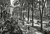 """1915 Saratoga Springs, New York, Photo, 16""""x11"""", Horse carriages, Street View"""