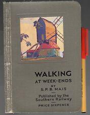 1920s? WALKING AT WEEKENDS Southern Railway (UK, pre British Railways) 128pg EC!