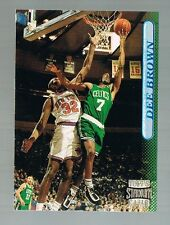 DEE BROWN #9 CELTICS / JACKSONVILLE 1996/97 Topps stadium club Members only