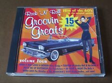 Rock N Roll Groovin Greats Hits of the 60s Volume 4 Vol Four 1960s 15 Hits