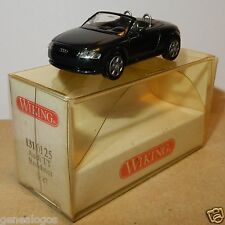 MICRO WIKING HO 1/87 AUDI TT ROADSTER VERDE SCURO IN METALLO IN BOX