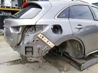 09-11 Infiniti FX Series OEM Gray Rear Right Passenger Quarter Panel Cut