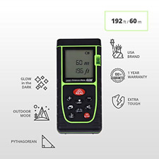Laser Professional Digital Distance Measuring Tape Tool Electronic Bubble Level