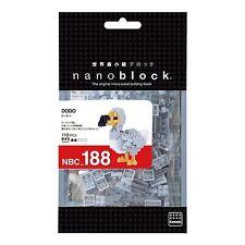 Dodo bird Nanoblock Miniature Building Blocks New Sealed Pk NBC 188