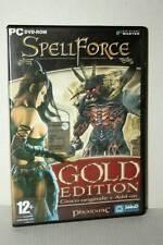 SPELL FORCE GOLD EDITION GIOCO USATO PC DVD VERSIONE ITALIANA GD1 47346