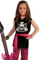Rock Star Girl Economy Costume Child - 2 Sizes