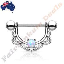 Opalite 16g (1.2 mm) Gauge (Thickness) Piercing Jewellery
