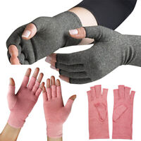 Unisex Anti Arthritis Compression Therapy Hand Pain Gloves Mittens Support Brace