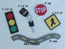 Die Cut New Car Driver Keys Stop Sign Scrapbook Embellishment Paper Piecing CKS
