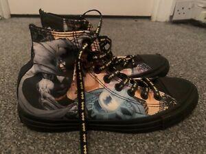 batman converse shoes unused size 7