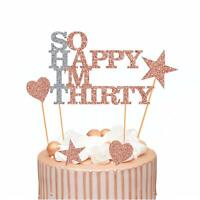 Dirty Thirty Birthday ~ Edible 2D Fondant Cake Cupcake Topper ~ D20867 *