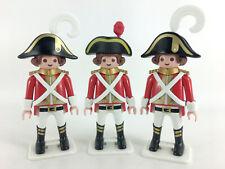 playmobil Pirates Violin History 70273 Band Redcoat Museum Figures X3 Rare Lot