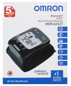 Omron HEM-6232Tr Wrist Blood Pressure Monitor Aussie Stock Free Shipping