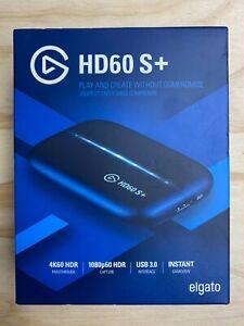 Elgato HD60 S+ Plus Video Capture PS4 Xbox Switch Pc HD Game Recorder Brand New!