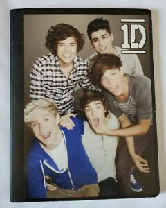 1D ( One Direction) Composition NoteBook Harry Styles, Zayn, Louis, Niall Horan