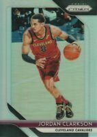 2018-19 Panini Prizm Basketball Silver Parallel #190 Jordan Clarkson Cavaliers