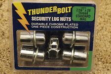 """Thunder Bolt Security Lug Nuts 7/16"""" x 20 Thread Standard Mag 19910"""