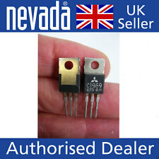 Mitsubishi C1969 x 2  NPN power transistors  NEW but our old stock