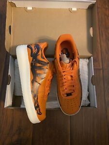 air force 1 hombre naranjas