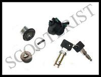 Ignition Handle Steering Lock Kit 2 Wire Vespa PX P E Lusso MY LML Star Stella