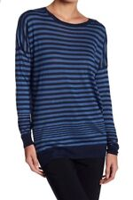 NWT VINCE. Striped Oversized Pullover Top Cashmere Blend Size XS $245