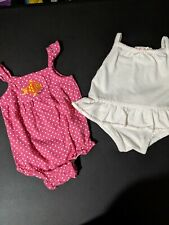 Baby Girl Clothes 2 Summer Suits size 3 months
