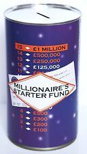 Millionaire Salvadanaio A Forma Di Barattolo Grande 17.5cm Millionaire Starter