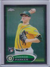 JARROD PARKER 2012 Topps Chrome Rookie Black Refractor Autograph #12/100 (B7226)
