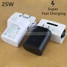 Genuine Samsung S20 /+ Note10 10+ Fast Charging USB Type C PD Wall Charger Cable