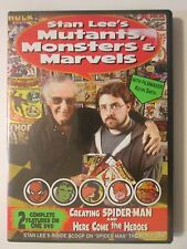 Stan Lee's Mutants, Monsters and Marvels Kevin Smith Marvel Spider Man X-Men DVD