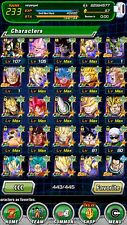 Dokkan Battle Account LR Broly Gogeta omega with many ssrs and a lot of goodie