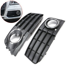 Audi A4 B8 2009-2012 Fog Lights Light Bumper Grilles Grill Set L R Pair