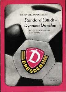 UEFA - EC III 80/81 Dynamo Dresden - Standard Lüttich, 10.12.1980