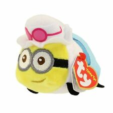 """TY Beanie Boos Teeny Tys 4"""" Despicable Me 3 JERRY Minion Tourist Stackable Plush"""