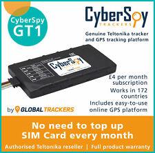 CyberSpy GT1 Vehicle Tracker Fleet Motorbike Car GPS Device Full Tracking System