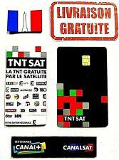✅ ★EN STOCK★ CARTE TNT SAT HD V6 RENOUVELEMENT ★4 ANS ★ SATELITE ASTRA 19.2 ✅