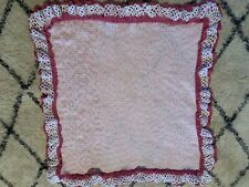 Hand Crocheted/Knitted Baby Blanket
